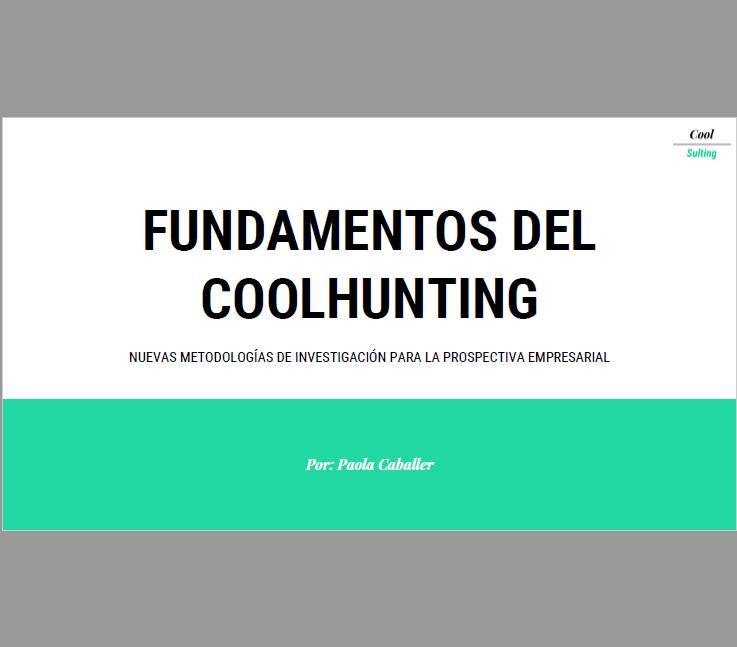 Portada Manual Fundamentos del Coolhunting para la prospectiva empresarial_V2